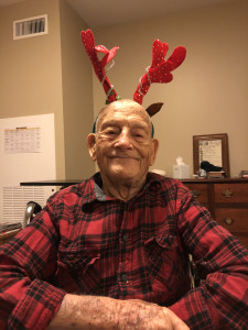 I had so much fun at our annual Christmas party at my assisted living! This is my favorite resident Pete.